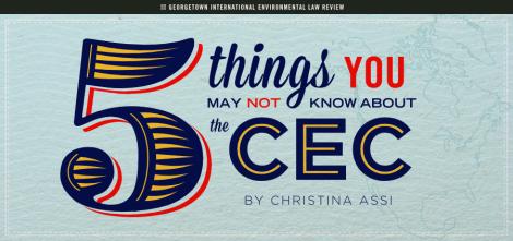 Christina Assi - 5 Things CEC
