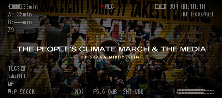 Shana Mirhosseini CLIMATE MARCH