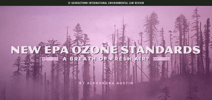 Alexandra Austin - EPA Ozone Stndrds