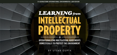 Utsav Gupta - Learning from Intellectual Property