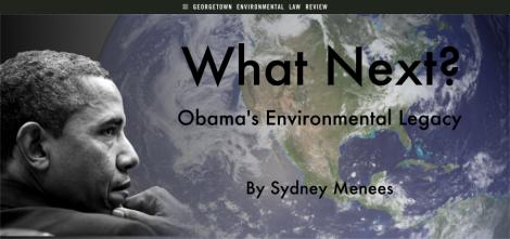 obama legacy Sydney Menees