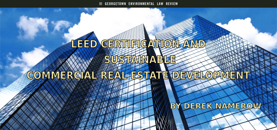 Leed certification and sustainable commercial real estate for Leed certification for homes